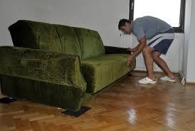 Lamare il parquet senza spostare mobili